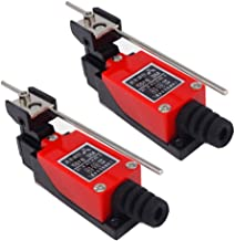 tatoko Adjustable Rod Lever Arm Momentary Limit Switch 1NC+1NO Silver contact ME-8107 2Pcs
