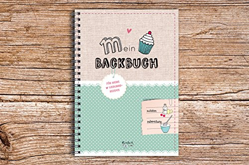 Mein Backbuch DIN A5 die Lieblingsrezepte zum Selberschreiben NEU 2020