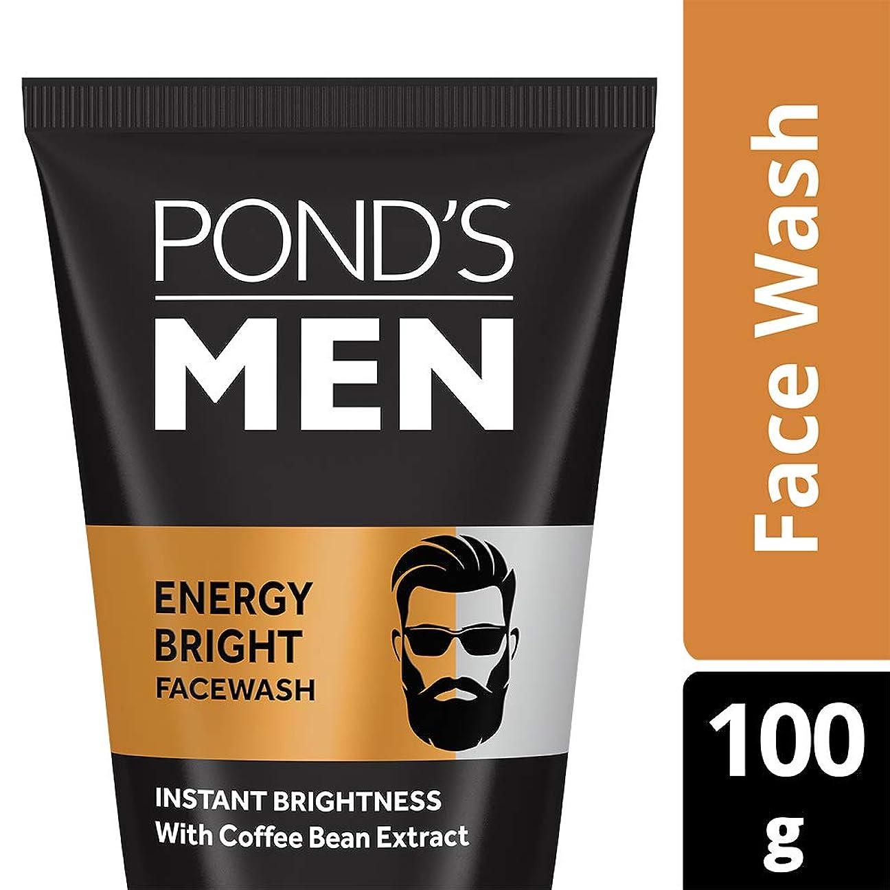 感情教えてモールPOND'S Ponds Men Energy Charge Face Wash, 100g