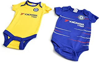 Chelsea FC - Authentic Cute Baby Body Suits 2 Pack (0-3 Months)
