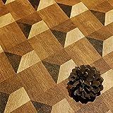 auxua Peel and Stick Wallpaper 17.7'x236' 3D Wood Grain Contact Paper Vinyl Brown Shiplap Rustic Self Adhesive Removable for Walls Cabinets Tables Walls Desks Backsplash Bedroom Living Room Bathroom