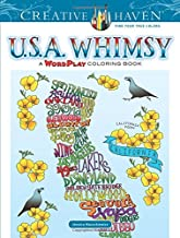 Creative Haven USA Whimsy: A Wordplay Coloring Book