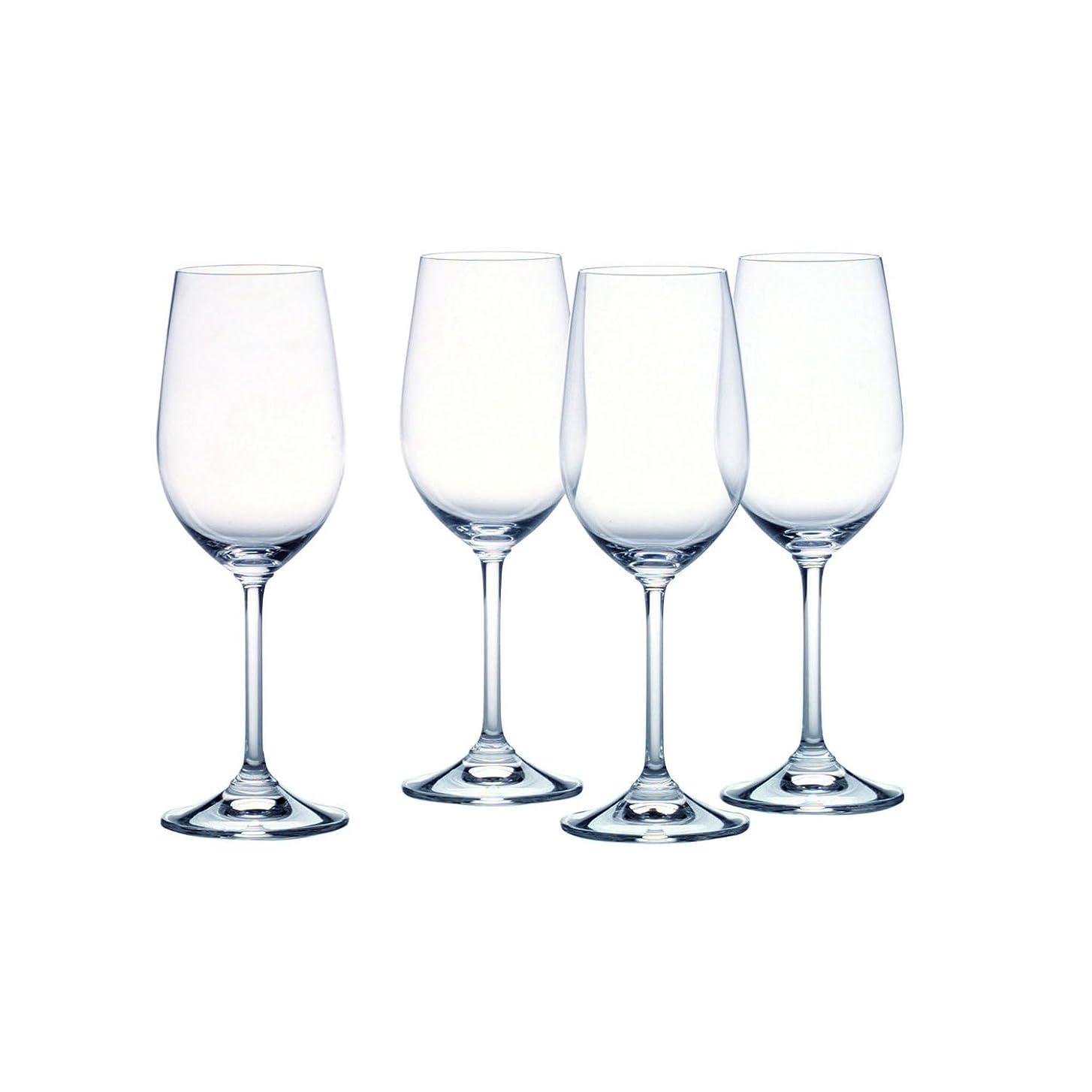 ストレスの多いパークフックMarquis by Waterford Vintage Classic White Wine Glasses, Set of 4 [並行輸入品]