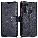 Case Collection Premium Leather Folio Cover for Motorola