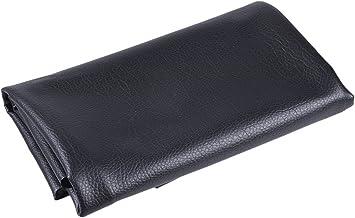 YNuth Tela de Cuero Sintético PU Tapicería Tela de Piel Sintética para Tapizar Material de Artesanía para Cojines Coches Camas Sofás 100x142cm