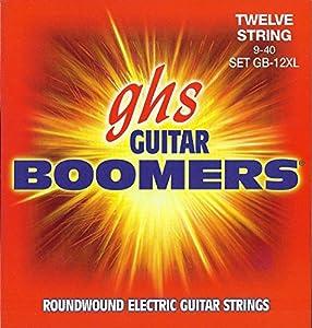 .009 .011 .016 .024 .030 .040.009 .011 .008 .010 .016 .022 - Juego / Guitarra EléctricaExtra Light 12-StringNickel Plated SteelRoundwoundHexagonal CoreMade in USA