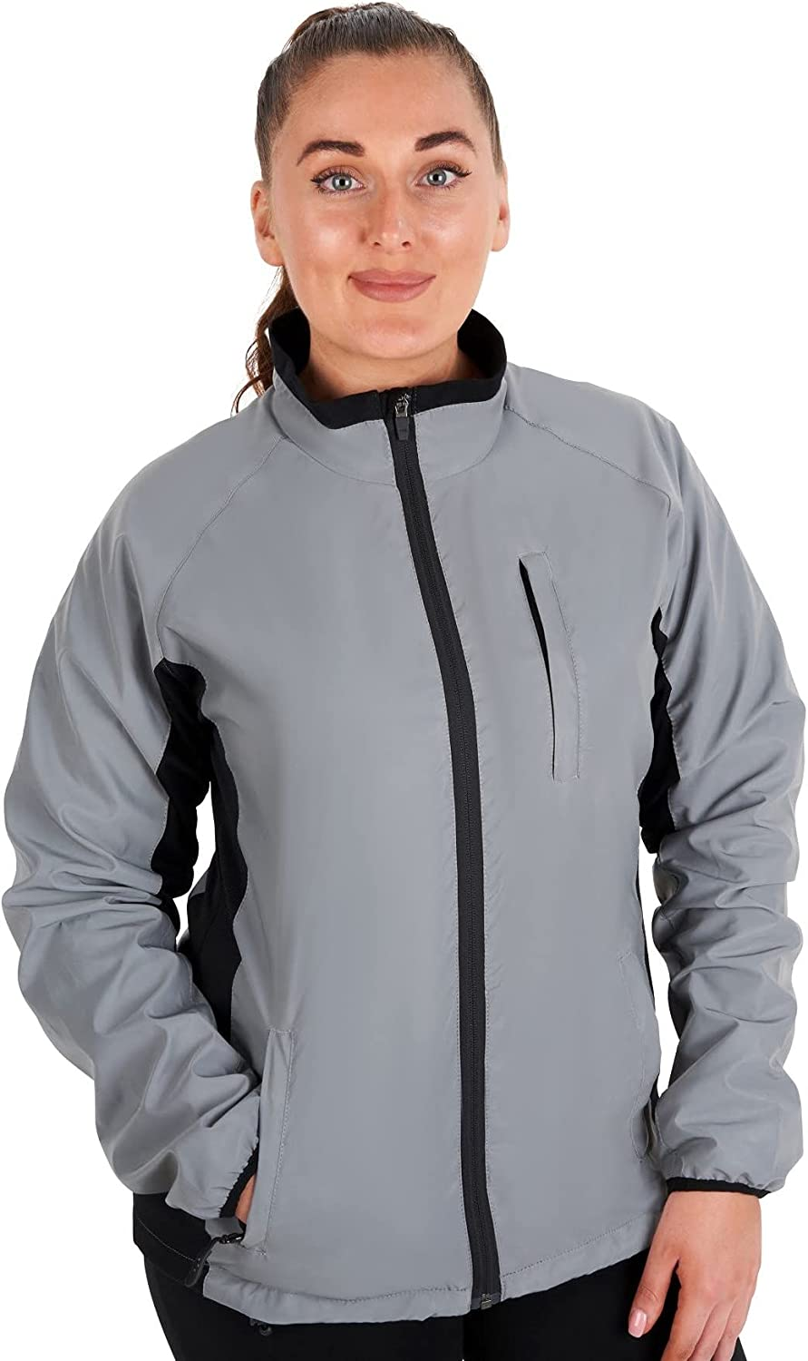 BTR Ladies High Visibility cheap Reflective Cycling Silver and Running quality assurance