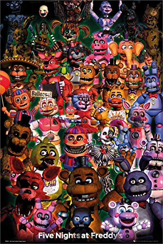 GB Eye Limited Five Nights at Freddys Ultimate Group Maxi Poster Picture 61x91.5cm | 24x36 inch
