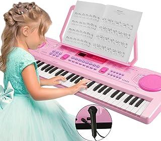 Piano Numérique, Magicfun Piano 61 Touches Portable Enfants Musique Clavier..