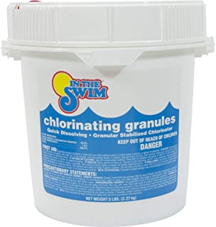 In The Swim Sodium Di-Chlor Chlorine Granular - 5 Pound Bucket