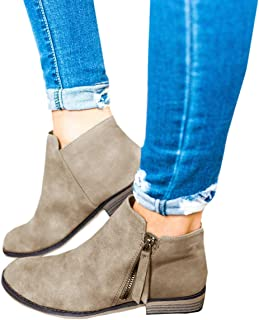 bbb020e9e1c Amazon.com: Wedge - Ankle & Bootie / Boots: Clothing, Shoes & Jewelry