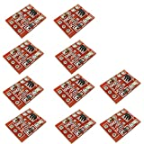 KKHMF 10個 TTP223 静電容量式 タッチ スイッチ ボタン セルフロック モジュール 「国内配送」