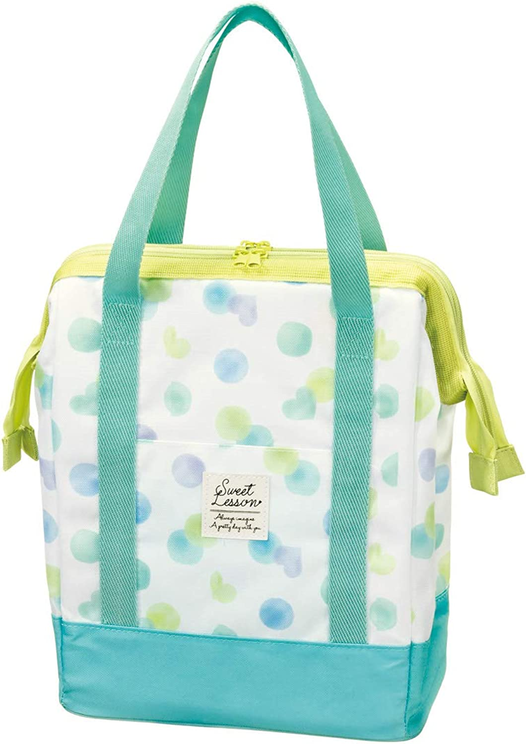 barato PJ Warm Cold Double Coin Type Lunch Bag Bag Bag [Suite Lessons (Mint)]  entrega gratis