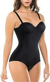 Bingrong - Body reductor para mujer con sujetador y sujetador