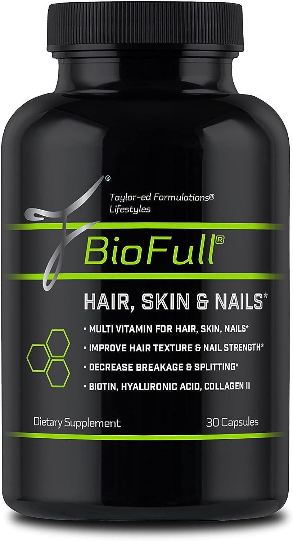 当店一番人気 BioFull Hair 海外並行輸入正規品 Skin Nails
