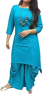 FEMEZONE Women's Cotton Readymade Salwar Suit
