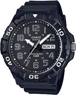 Casio Casual Watch Analog Display For Men Mrw-210H-1Av, Black Band