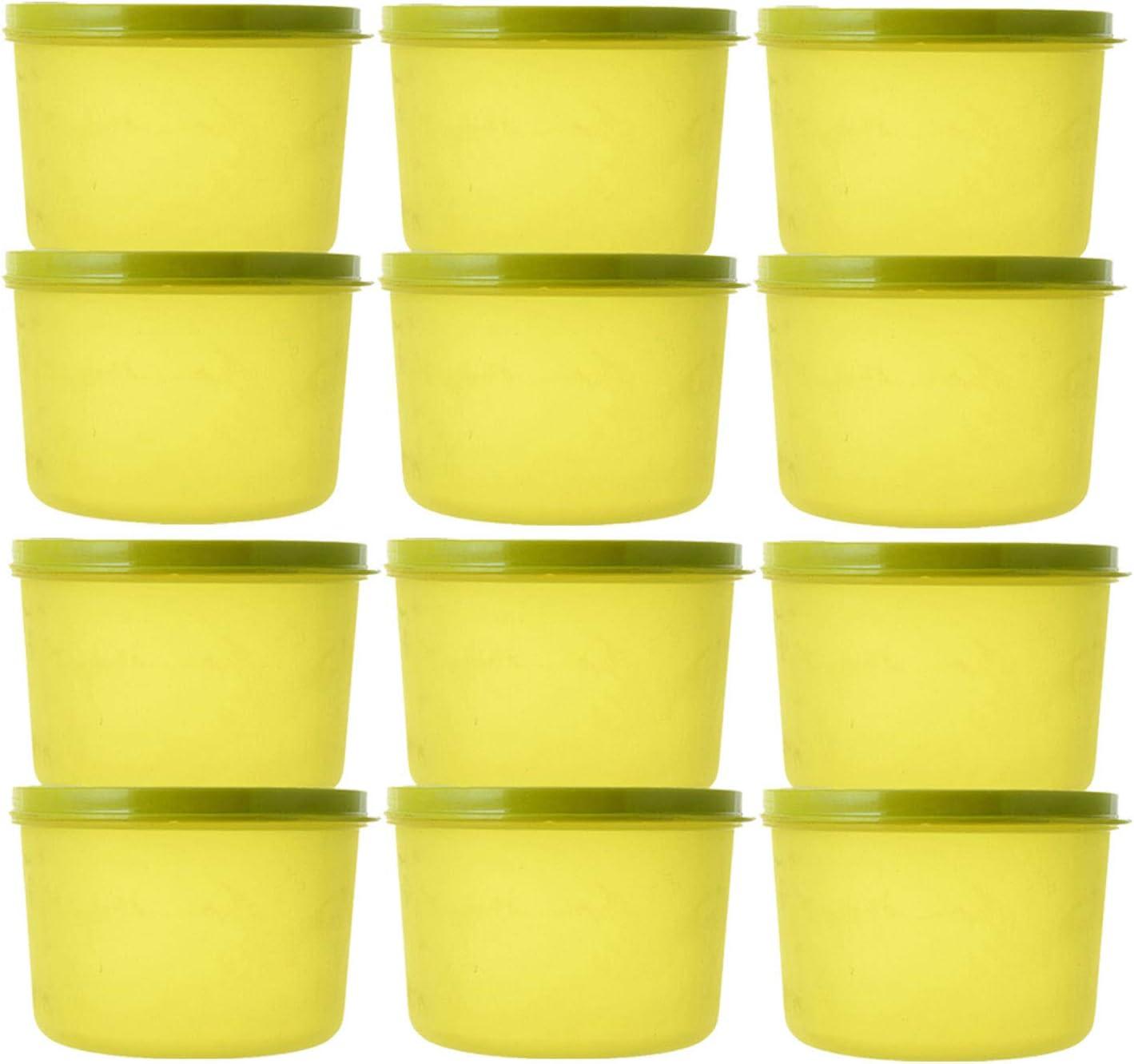 Kuber Industries Plastic 12 Pieces Kitchen Storage Spice Contain