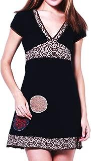 Kleid, farbenfrohe Tunika, aus Baumwolle, in S, M, L und XL, kleine Auflage (Boutiqueware) !