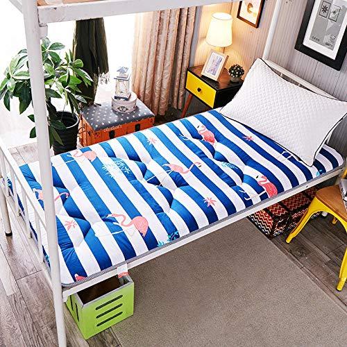 zlzty Memory Foam matrastopper eenpersoonsbed, Thick Tatami opvouwbare antislipmatras enkel tweepersoonsbed mat student slaapzaal etagemat