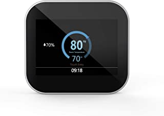 Smart Colorful Touchscreen WiFi Programmable Home Thermostat MC6, Works With Alexa, Black