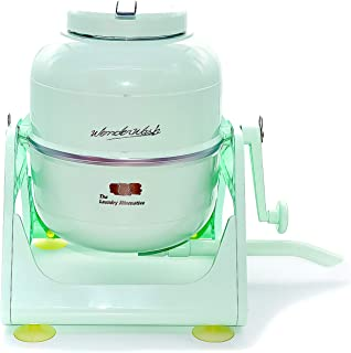The Laundry Alternative Wonderwash Retro Colors Non-electric Portable Compact Mini Washing Machine (Mint Green)
