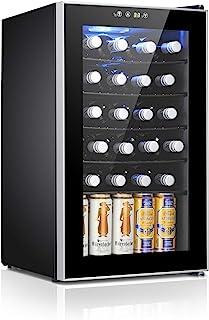 Antarctic Star 24 Bottle Wine Cooler/Cabinet Beverage Refigerator Mini Fridge Small Wine Cellar Soda Beer Counter Top Bar ...