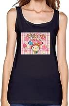 Dotion Women's U Sa Ha Na Waistcoat T Shirt
