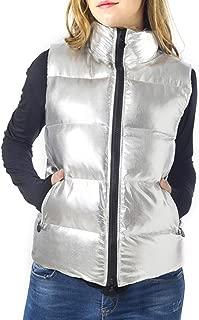 Women Lightweight Down Vest Outdoor Puffer Vest Jacket