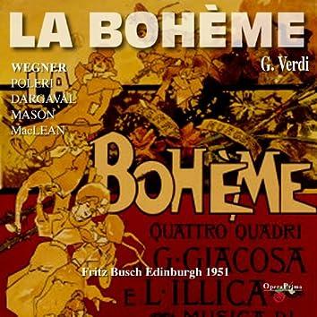 Puccini: La bohème (Edinburgh 1951)