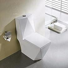 Vaso Sanitário Monobloco PEX Maximus produzido em Cerâmica