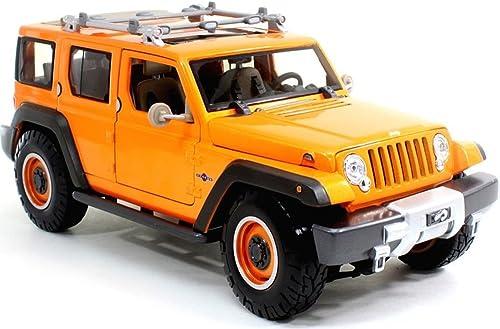 Jeep Rescue Concept (Orange)  Premiere Edition  2014 Maisto 1 18 Scale Die-Cast Metal Vehicle