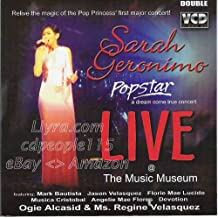 Popstar: Dream Come True Concert - Live at the Music Museum - Philipine Music VCD