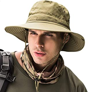 Fashion Mens Fishing Hats Summer Sun Cap for Outdoor Activities Fishing Camping Cycling Hunting Hiking
