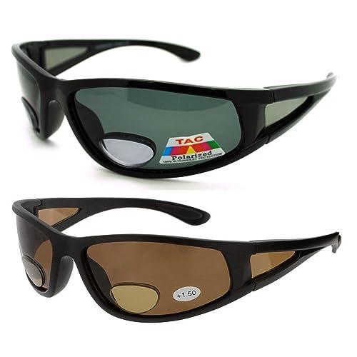 3f55f2cf973 2 Pair of Polarized Bifocal Sunglasses - Outdoor Reading Sunglasses