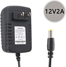 YETAIDA 12V 2A DC Power Supply,Wall Plug 12 Volts AC Adapter for LED Strip,CCTV Camera,Wireless Router,Monitor