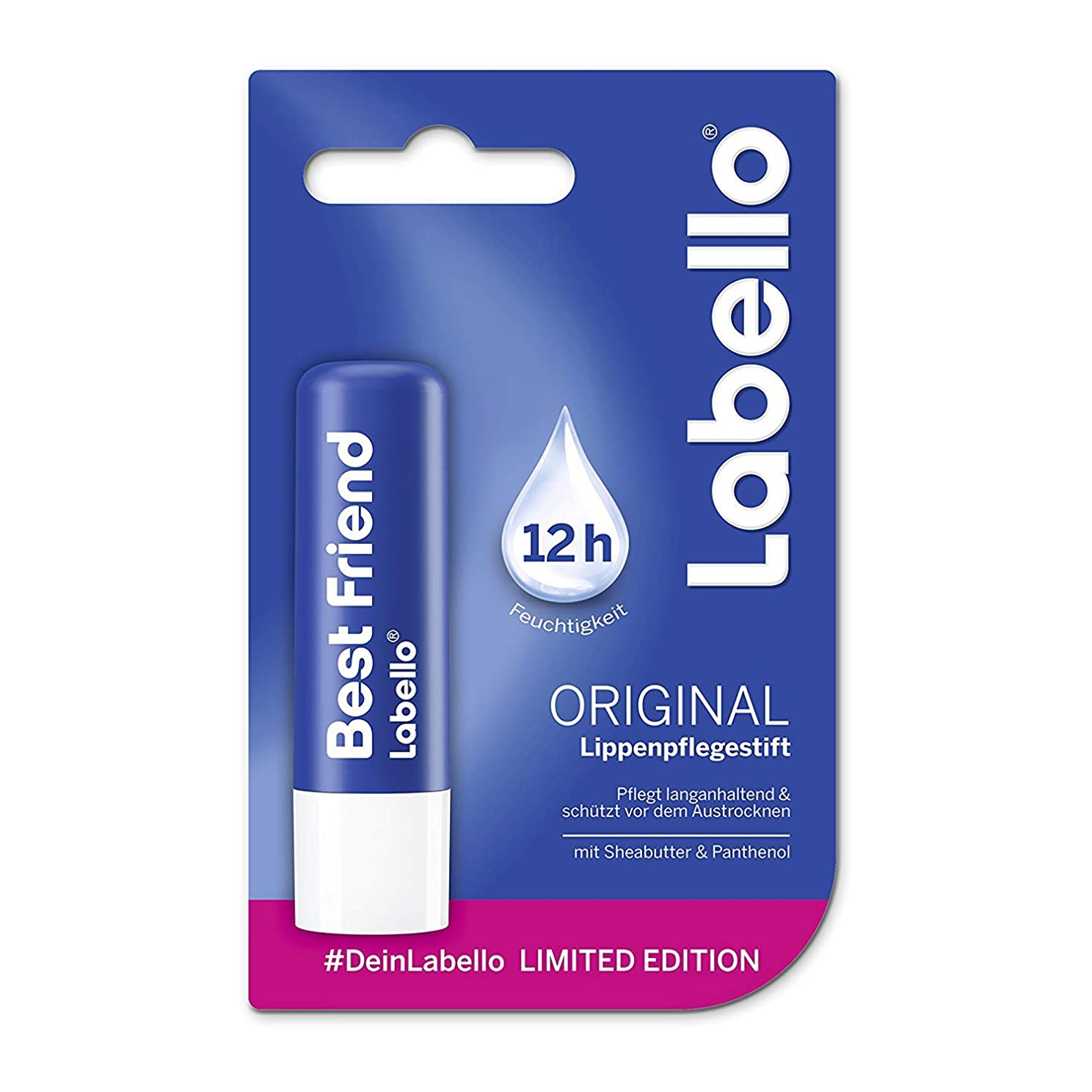 放棄する陪審メトロポリタンLabello Classic Care Lip Balm 3x 0.18 Oz - 5g - Pack of 3 by Labello