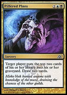 Magic: the Gathering - Pilfered Plans (90) - Dragon's Maze - Foil
