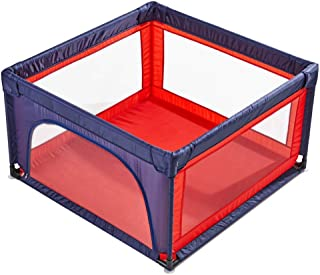 GWFVA Foldable Indoor Baby Playpens Park Fabric Indoor Playground Park Playground Barrier Barrier