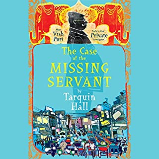 The Case of the Missing Servant audiobook cover art