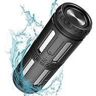 Bluetooth Speakers Waterproof IPX67 Portable Speaker Loud Stereo Sound, 30 Hours Playtime,...
