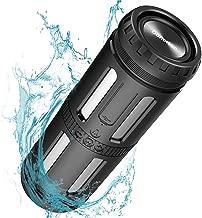 Bluetooth Speakers Waterproof IPX67 Portable Speaker Loud Stereo Sound, 30 Hours Playtime, Enhanced Bass, Built-in Mic, Dustproof, Shockproof, HandsFree Calls, 5200mAh Powerbank for Party, Camping