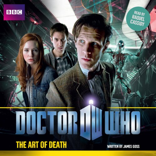 Doctor Who: The Art of Death audiobook cover art