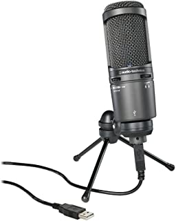 Audio-Technica AT2020USB+ Cardioid Condenser USB Microphone (Renewed)