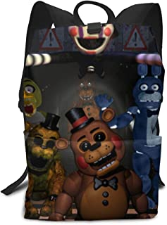 HZIJUE Five Nights At Freddy's 3D Print School Bag Backpack Sports Backpack