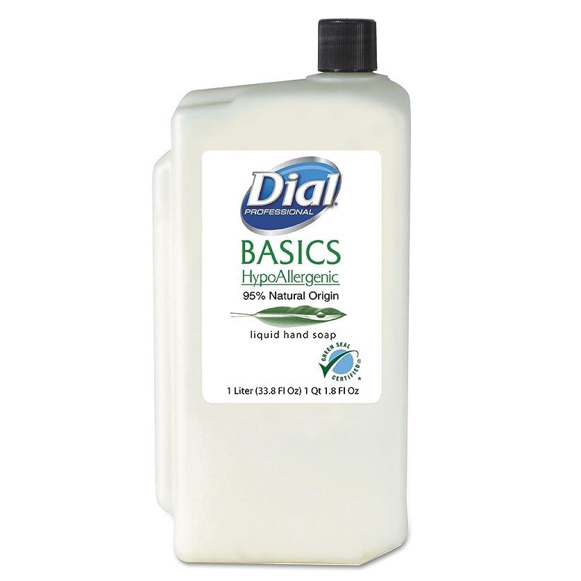 バン囚人インタビューDIA06046 - Basics Hypoallergenic Liquid Soap, Rosemary amp; Mint, 1 Liter Refill by Dial
