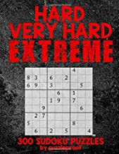 Hard Sudoku puzzle books vol. 1: Hard, Very Hard and Extremely Hard Sudoku – Total..