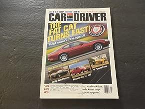 Car And Driver Jul 1998 435 hp Corvette; 370 hp Jaguar XKR; Mercedes