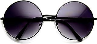 2327debb467 Super Large Oversized Metal Round Circle Sunglasses