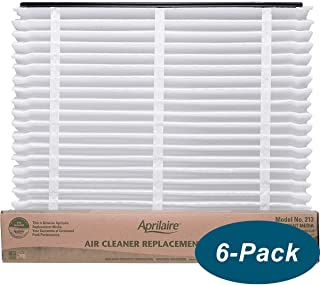 "6 Pack of Aprilaire 213 MERV 13 Replacement Filter Media. 20"" x 26"" x 4"". Brand New Genuine Aprilaire Product."